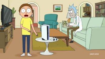 PS5: Rick e Morty sono due improbabili testimonial in questo spot