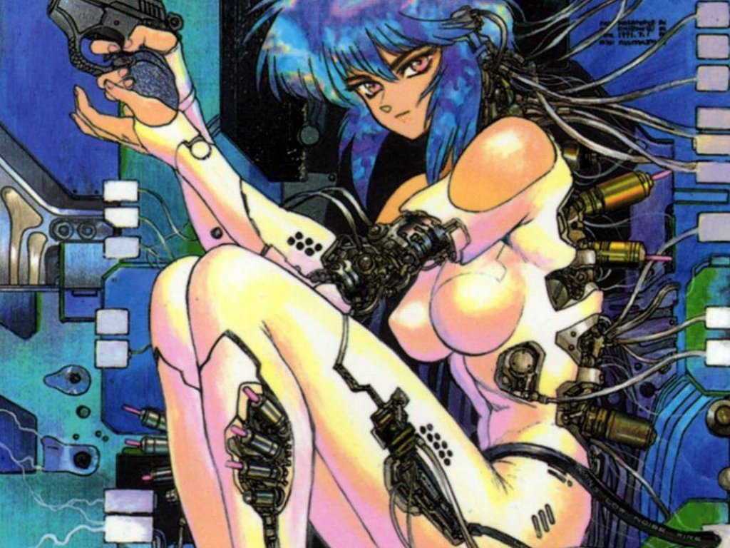 Ghost in the Shell: a splendid Motoko Kusanagi in Crystal Graziano's cosplay