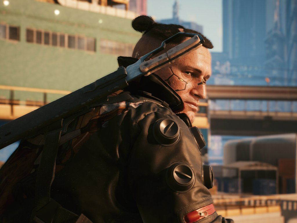 Cyberpunk 2077: a bug throws us into space