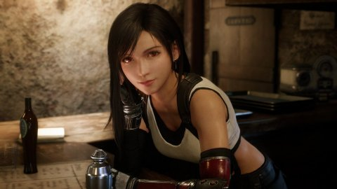 Final Fantasy 7, the cosplay of Tifa from Oichichan raises the temperature