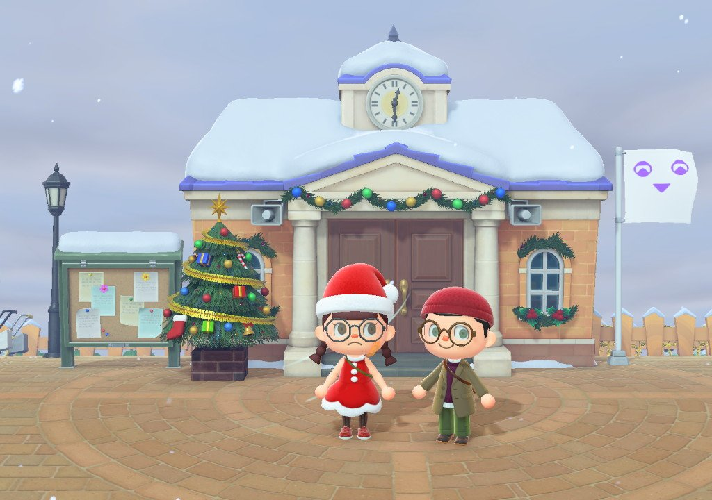 Animal Crossing: New Horizons, the December tour