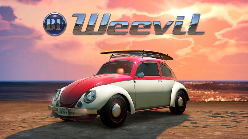 Gta Online Grand Theft Auto 5 Bf Weevil