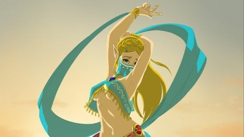 Breath of the Wild: Grusha's latest Zelda cosplay is the most sensual
