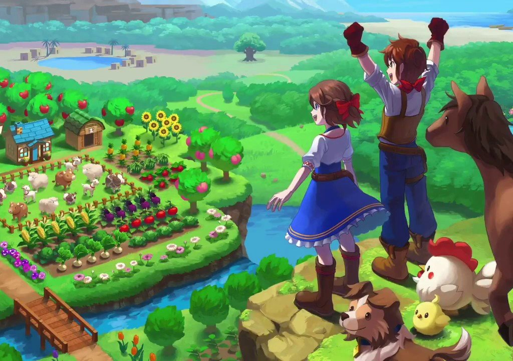 Harvest Moon: One World, the preview
