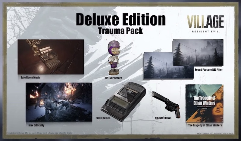 Resident Evil Village: Collector's Edition e Deluxe ...
