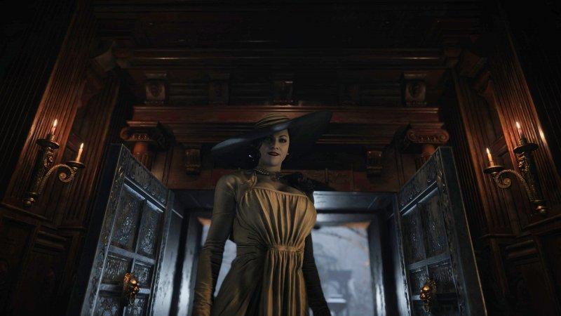 Resident Evil Village: The Tall Lady è già famoso e amato