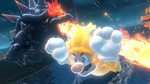 Super Mario 3D World + Bowser's Fury is the game of the month for February 2021