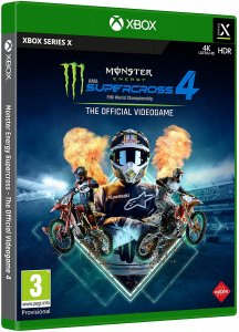Monster Energy Supercross - The Official Videogame 4 per Xbox Series X