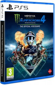 Monster Energy Supercross - The Official Videogame 4 per PlayStation 5