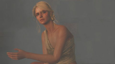 The Witcher 3: Ciri's cosplay in the Saiwestwood sauna is enchanting