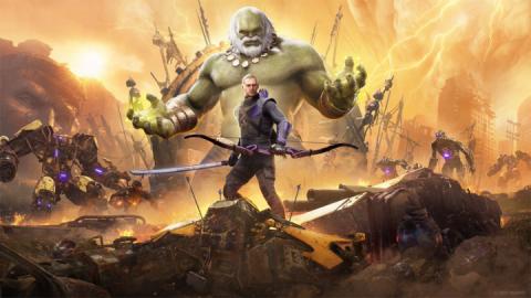 Marvel's Avengers rallenterà la progressione dei personaggi con l'arrivo di Occhio di Falco