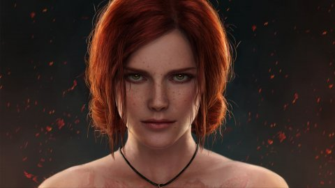 The Witcher 3: Mira_ladovira's Triss cosplay is sumptuous