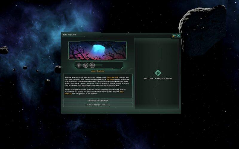 El primer nuevo contacto de Stellaris: Nemesis