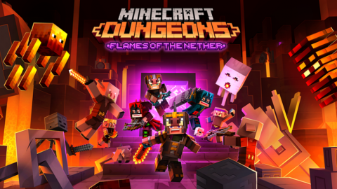 Minecraft Dungeons: Flames of the Nether is available, the biggest update yet