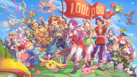 Trials of Mana: over one million copies sold