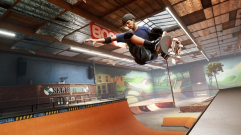 Tony Hawk's Pro Skater 1 and 2: PS5 and Xbox Series X at 120 fps, but different resolutions
