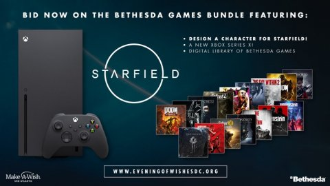 Starfield: A charity initiative allows you to draw a character and win an Xbox