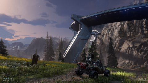 Halo Infinite: discovered a hidden audio file with clues to the story