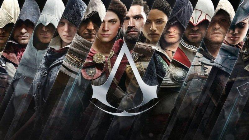 Assassin's Creed, una obra de arte con todos los héroes de la serie.