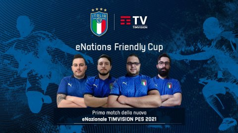 eNational TIMVISION: tonight the classic Italy - Germany will be played in view of eEuro 2021