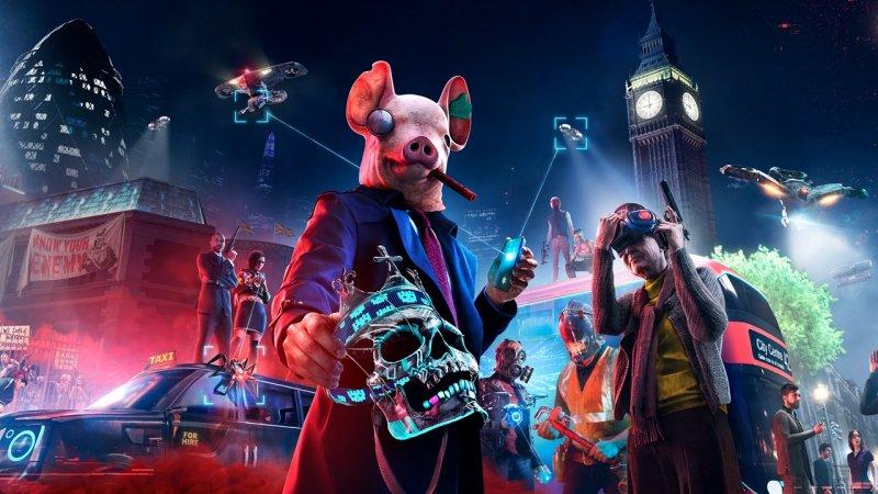 Watch Dogs: Legion, a arte oficial do jogo