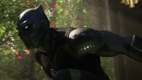 Marvel's Avengers: Black Panther protagonist of an animated trailer