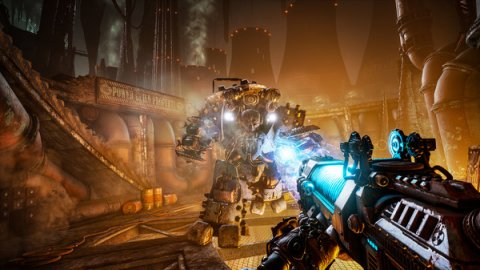 Necromunda: Hired Gun, video shows us the relationship between the protagonist and his dog