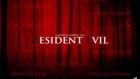 Resident Evil, the film has an official title revealed by the director