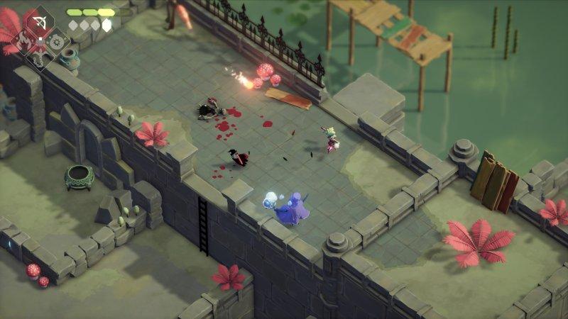 Death's Door, the fights can get surprisingly challenging