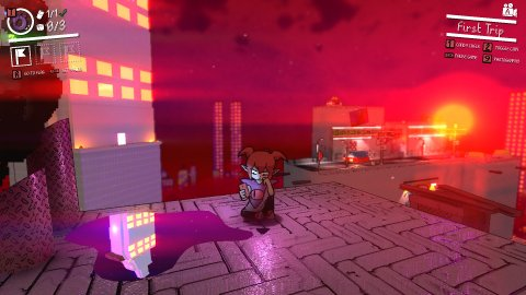 Demon Turf: announced a crazy 3D-2D platformer for PC, Xbox and Nintendo Switch