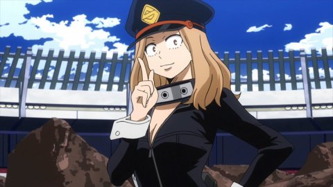 My Hero Academia, the cosplay of Camie from missbricosplay is sensual as the original