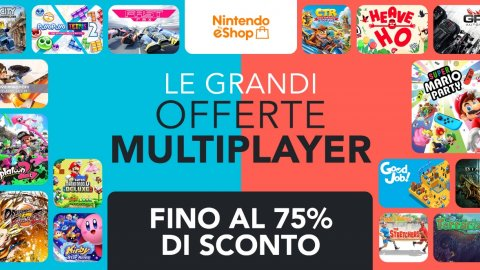 Nintendo Switch: Great Multiplayer Offers with discounts for 190 games on eShop