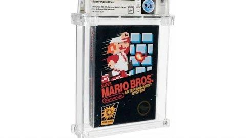 Super Mario Bros, rare copy sold at a record price: $ 660,000
