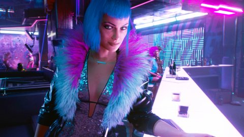Cyberpunk 2077, the Evelyn cosplay by Lada Lyumos is pure glamor