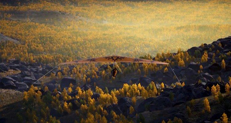 Aviano, un simulatore di deltaplano svil …