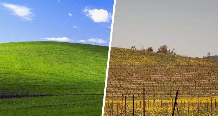 Windows XP. un video mostra la collina d …
