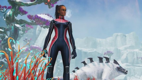 Subnautica: Below Zero on Xbox Series X has higher resolution than PS5, for comparison