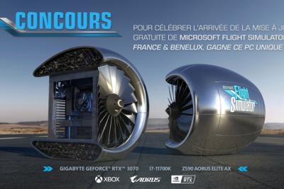 Microsoft Flight Simulator gives away 2 questionable-looking PCs to celebrate the French-speaking update