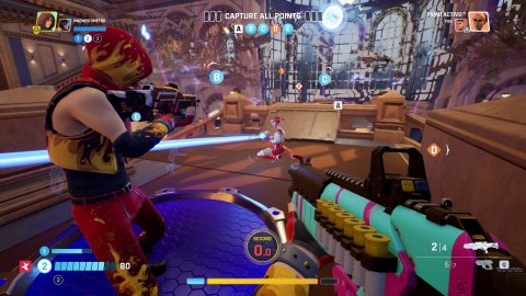 Quantum League, launch trailer for this arena shooter with time paradoxes