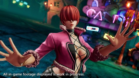The King of Fighters 15, Shermie shows up with trailers and images
