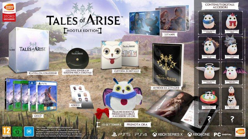 Edición La Hootle di Tales of Arise.