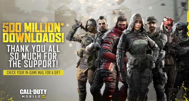 Call of Duty Mobile supera i 500 milioni …
