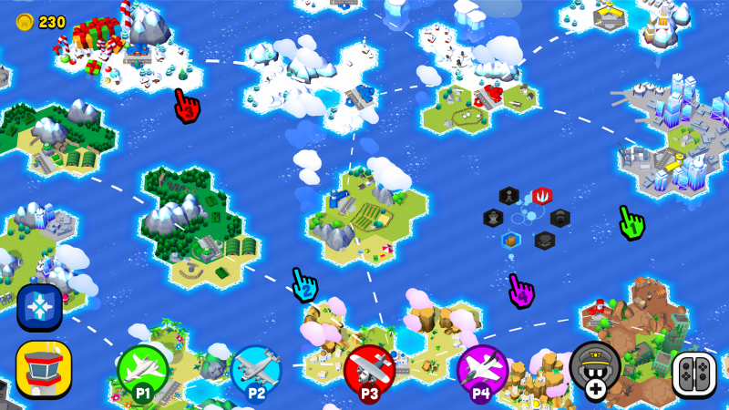 Fly TOGETHER! and its game map