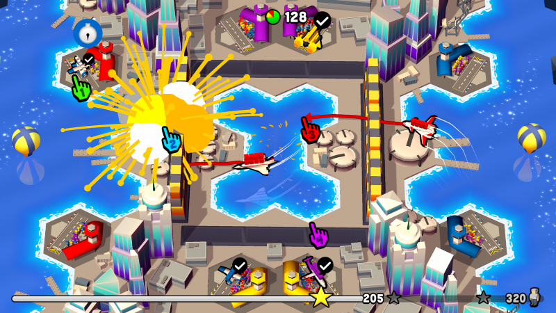 Fly TOGETHER !, a look at the multiplayer mode