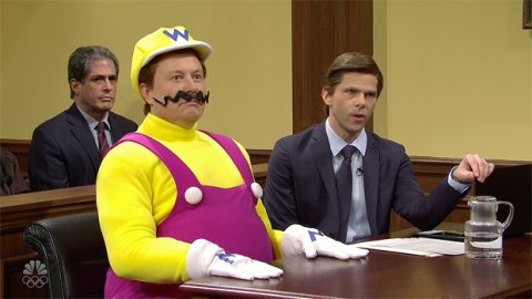 Elon Musk as Wario and Grimes is Peach in the new episode of Saturday Night Live