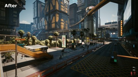 Cyberpunk 2077: improved shadows and more with the True Next-Gen Shadows mod