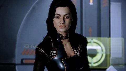 Mass Effect Legendary Edition, a sexy Miranda cosplay from Meg Turney
