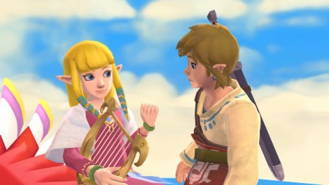 The Legend of Zelda: Skyward Sword HD, new images of the remaster for Switch