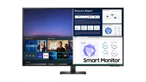 Samsung Smart Monitor 43M70A and 24M50A: the new 43 and 24 inch models with additional features