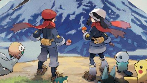 Pokémon Legends: Arceus, steelbooks and Pokéballs appear for pre-orders in Europe